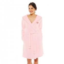 Розов дамски халат COOL Pink