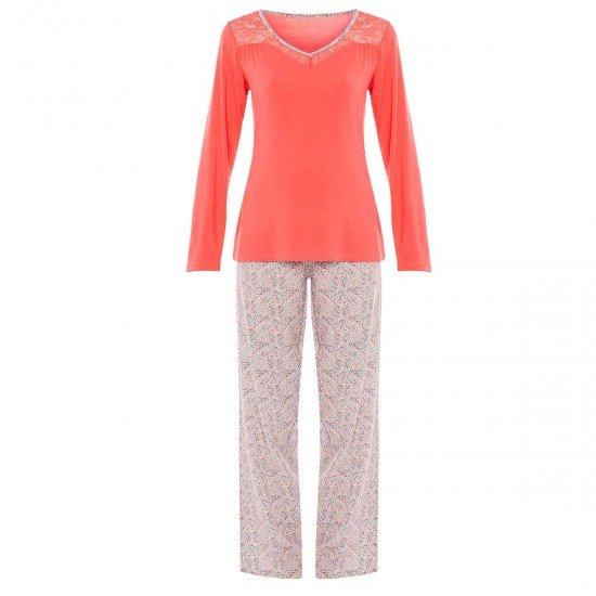 Пижама в цвят корал AMSTRAMGRAM