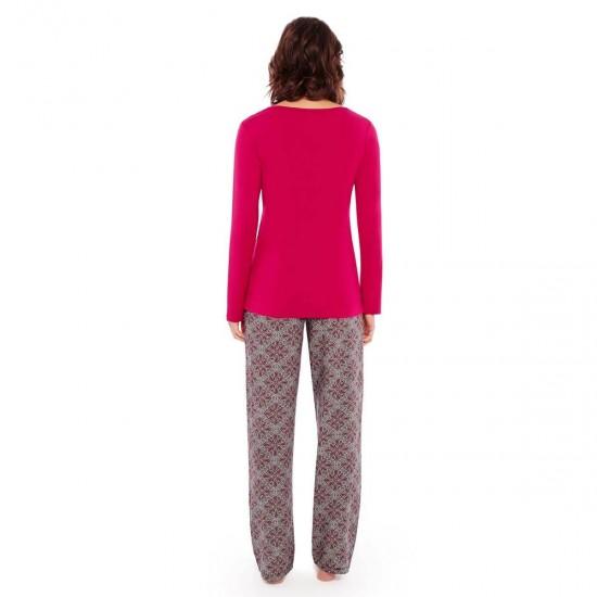 Цветна пижама в две части LES JEUX SONT FAITS