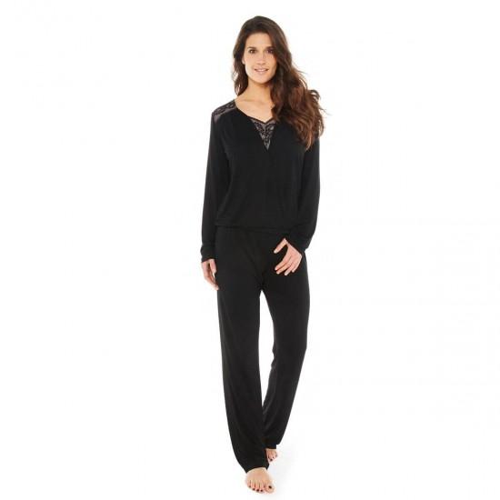 Черна пижама HYMNE A L'AMOUR